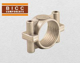 BICC Components - Aluminium Two Bolt Cleats