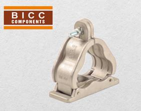 BICC Components - Trefoil Cleat - Aluminium Single Bolt