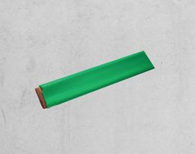 Green PVC Covered Copper Tape